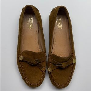 Coach Leather Frida Loafers